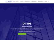 screenshot http://www.dirips.com dir ips solutions de gestion pour entreprises