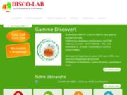 screenshot http://www.disco-lab.fr/ disco-lab, produits de nettoyage écologiques