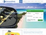 screenshot http://www.discountpark.fr/ discount park aéroport roissy cdg