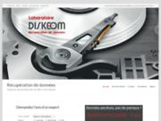 Diskeom, entreprise de haute technologie aux service de vos données perdues et disque dur en panne