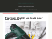 screenshot http://www.dissaux-construction-renovation.com travaux de maçonnerie, rénovation maison avroult.