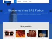 screenshot http://www.distri-farbos.com/ distribution de produits alimentaires : volailles, lapins, viandes, conserves