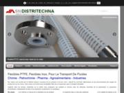 screenshot http://www.distritechna.com transmission fluide et graissage