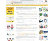 screenshot http://www.divio-immobilier.com Logiciel immobilier