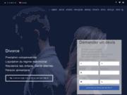 screenshot http://divorce.avocat-broquet.fr avocat divorce paris : cabinet broquet