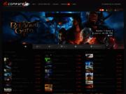 screenshot http://www.dlcompare.fr/ Comparateur de prix de jeux vidéos