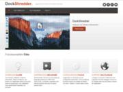 screenshot http://www.dockshredder.com Dock Shredder
