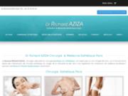 screenshot http://www.docteuraziza.com/ Docteur Richard Aziza à Paris