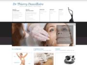 screenshot http://www.docteurdauvillaire.fr soins anti-âge pour la peau, le visage