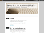 screenshot http://dom.services.over-blog.fr/ dom'services - aide à  domicile
