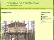 screenshot http://www.domaine-de-couchenoire.fr/ DOMAINE DE COUCHENOIRE