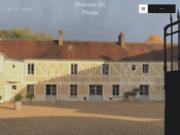 screenshot https://www.domaine-du-plessis.com/ Domaine du Plessis