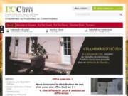 screenshot http://www.domainecuris.com domaine curis, pouilly-fuissé, saint-véran
