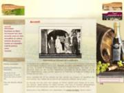 screenshot http://www.domainedelarobiniere.com vins de chancay