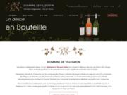 screenshot http://www.domainedevillegron.com Domaine de Villegron