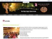 screenshot http://www.domainepercher.com domaine percher : grands vins d'anjou