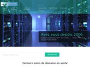 screenshot http://www.domainesduweb.fr annonce de vente de site internet et nom de domaine