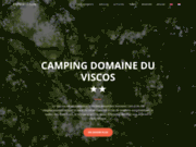 screenshot http://www.domaineviscos.fr/ domaine le viscos