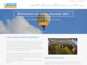 screenshot http://www.dombes-montgolfieres.fr/ dombes montgolfières : service de vol en montgolfière