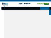 screenshot https://www.domiblue.fr/ service d'aide à domicile à Marseille 13008