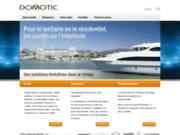 screenshot http://www.domotic.fr domotic : intégrateur en domotique et solutions audiovisuelles