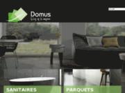 screenshot http://www.domuscarrelage.com domus : vente de carrelage, parquet  et sanitaire en france