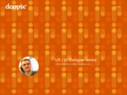 screenshot http://www.doopix.com doopix création web
