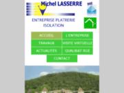 Michel Lasserre plâtrier plaquiste en Dordogne