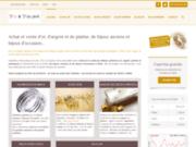 screenshot http://www.doretdargent.com achat vente d'or