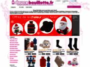 screenshot http://www.doucebouillotte.fr vente de bouillottes et peluches chauffantes