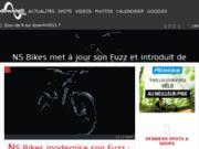 screenshot http://www.downhill911.com downhill911 l'actualité du vtt radical