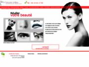 screenshot http://www.dr-grolleau-esthetique.fr docteur grolleau pour révéler votre peau.
