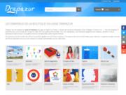 screenshot http://www.drapazur.com drapazur : boutique en ligne de drapeaux