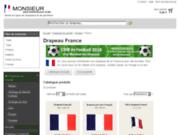 screenshot http://www.drapeau-france.info histoire du drapeau français et de la france