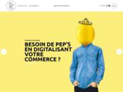 screenshot http://www.drde.fr des ronds dans l'eau, agence de communication bretonne