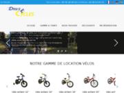 screenshot http://www.drivecycles.fr location de vélo à la palmyre