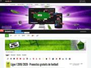 screenshot http://www.droitaufoot.com droit au foot - actualité du football et pronostics gratuits