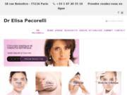 screenshot http://www.drpecorelli.com/ chirurgies