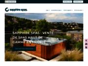 screenshot http://www.dspa.fr/ Spas de luxe et de nage