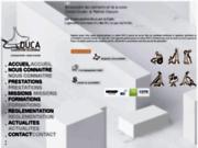 screenshot http://www.duca.fr duca, partenaire de vos projets d'accessibilité