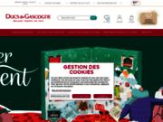 screenshot http://www.ducsdegascogne.com foie gras et paniers gourmands ducs de gascogne