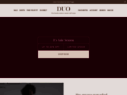 screenshot http://www.duoboots.com/fr duo