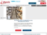 Duwic : équipement de rayonnage industriel