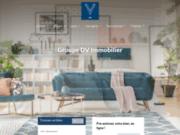 screenshot http://www.dv-immo.com/ dv immobilier