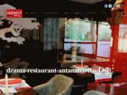 screenshot http://dzamacocktailcafe.com Dzama cocktail café restaurant à Antananarivo