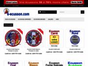 e-ecusson.com fabricant écussons brodés et écussons tissés moins chers - devis en ligne