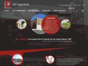 screenshot http://www.e3f-ingenierie.com E3F Ingénierie