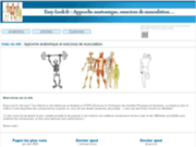 screenshot http://easy-look.fr easy-look.fr : approche anatomique et exercices de musculation