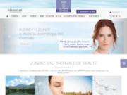 screenshot http://www.eauthermalejonzac.com eau thermale de jonzac