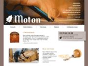 screenshot http://www.ebenisterie-moton.fr/ ebénisterie moton, sculpture et ébénisterie